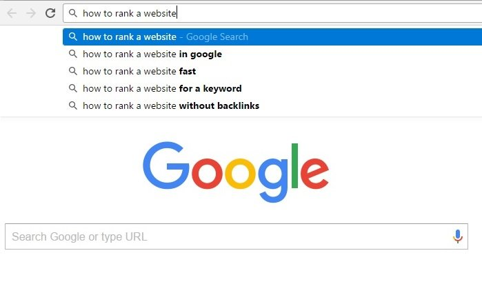 How to rank a website in Google fast for a keyword without backlinks